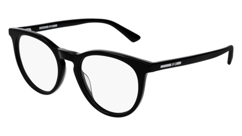 McQ - MQ0172O 49mm Black Eyeglasses / Demo Lenses