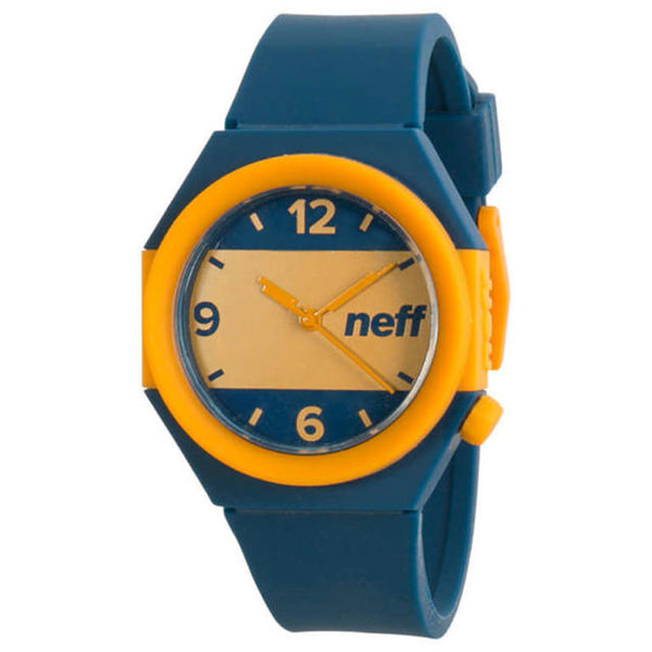 Neff - Stripe Blue/Gold Watch
