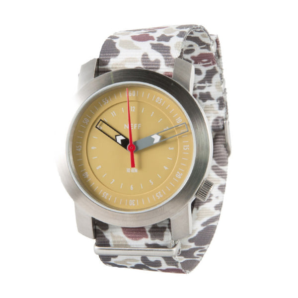 Neff - Tactical Silver/Camo Watch
