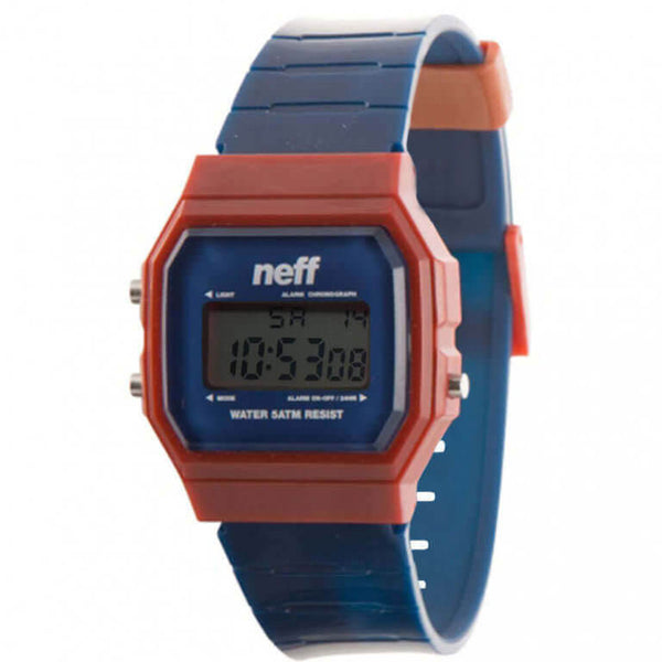 Neff - Flava XL Surf Navy/Maroon Watch
