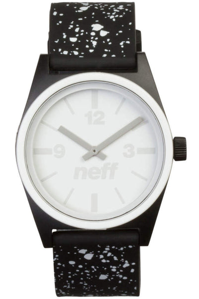 Neff - Duo Black Speckle Watch