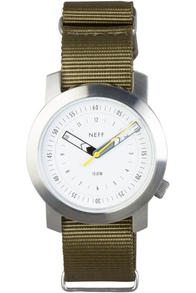 Neff - Tactical Silver/Olive Watch
