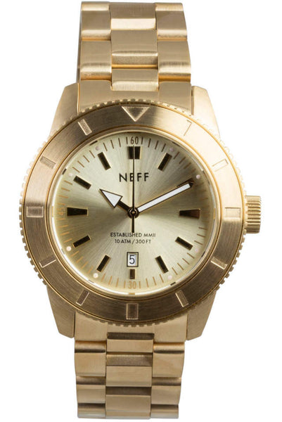Neff - Pretender Gold/Gold Watch