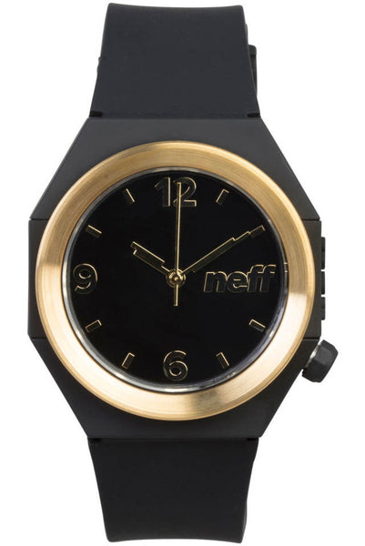 Neff - Stripe Black/Gold Watch