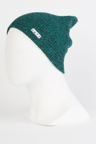 Neff - Daily Heather Black / Green Beanies