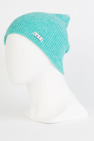 Neff - Daily Heather Teal / White Beanies