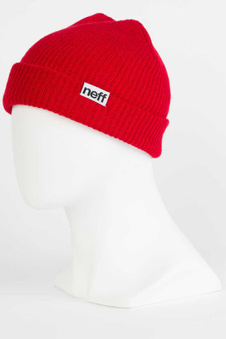 Neff - Fold Red Beanies