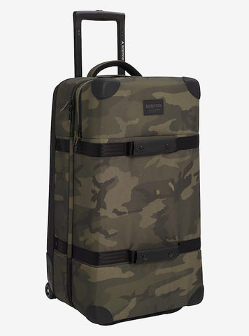 Burton - Wheelie Double Deck 86L Worn Camo Ballistic Travel Bag