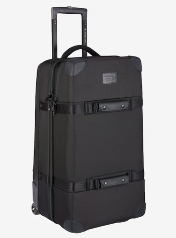 Burton - Wheelie Double Deck 86L True Black Ballistic Travel Bag