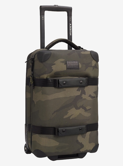 Burton - Wheelie Flight Deck 38L Worn Camo Ballistic Travel Bag