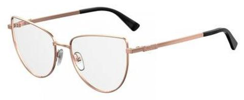Moschino - Mos 534 Gold Copper Eyeglasses / Demo Lenses