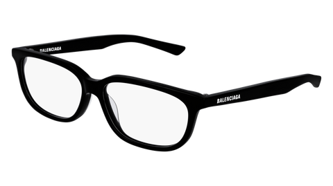 Balenciaga - BB0032O Black Eyeglasses / Demo Lenses