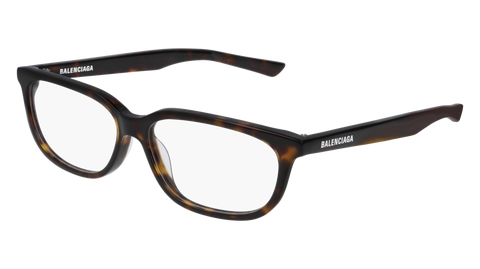 Balenciaga - BB0032O Dark Havana Eyeglasses / Demo Lenses