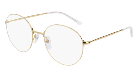 Balenciaga - BB0035O Gold Eyeglasses / Demo Lenses