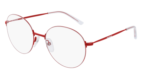 Balenciaga - BB0035O Red Eyeglasses / Demo Lenses