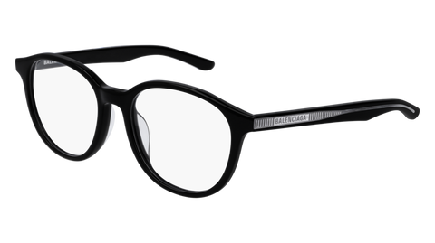 Balenciaga - BB0042OA Black Eyeglasses / Demo Lenses
