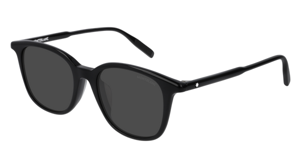 MontBlanc - MB0006SA Black Sunglasses / Black Lenses