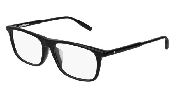 MontBlanc - MB0012OA Black Eyeglasses / Demo Lenses