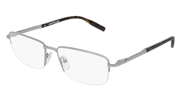 MontBlanc - MB0020O 56mm Ruthenium Eyeglasses / Demo Lenses