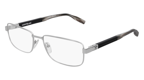 MontBlanc - MB0034O 58mm Silver Eyeglasses / Demo Lenses