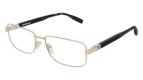 MontBlanc - MB0034O 58mm Gold Eyeglasses / Demo Lenses