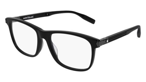MontBlanc - MB0035O 55mm Black Eyeglasses / Demo Lenses