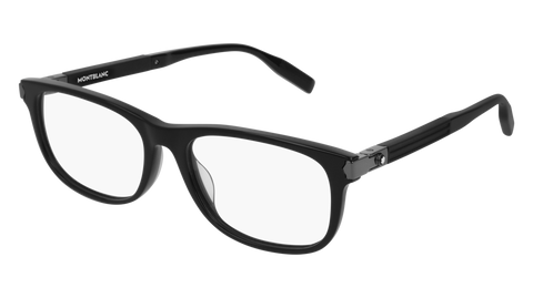 MontBlanc - MB0036O Black Eyeglasses / Demo Lenses