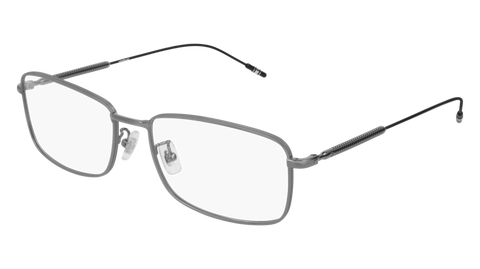 MontBlanc - MB0047O Ruthenium Eyeglasses / Demo Lenses