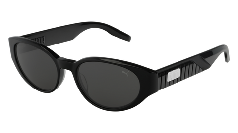 Puma - PU0228S Black Sunglasses / Smoke Lenses