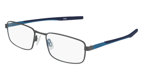 Puma - PU0237O Ruthenium Blue Eyeglasses / Demo Lenses