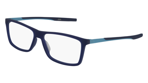 Puma - PU0235O Blue Ruthenium Eyeglasses / Demo Lenses