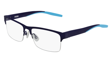 Puma - PU0207O Blue Eyeglasses / Demo Lenses