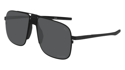 Puma - PU0223S Black Sunglasses / Smoke Lenses