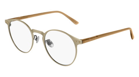 Bottega Venetta - BV0226O Gold Eyeglasses / Demo Lenses