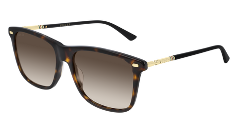 Gucci - GG0518S 54mm Havana Sunglasses / Brown Lenses