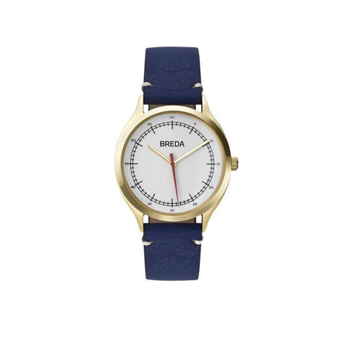 Breda - 1683 Gold / Navy Watch