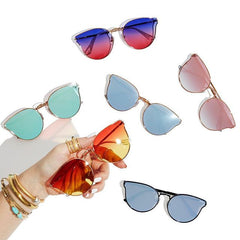 d3ef6a6bff Quay All My Love Gold Sunglasses