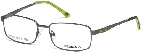 Skechers - SE3211 Matte Gunmetal Eyeglasses / Demo Lenses