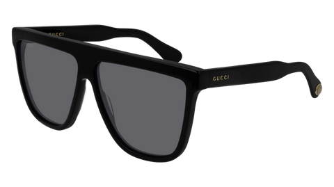 Gucci - GG0582S 61mm Black Sunglasses / Grey Lenses