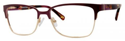 Banana Republic - Paisley 52mm Matte Purple Violet Eyeglasses / Demo Lenses