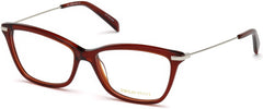 Emilio Pucci - EP5083 Shiny Red Eyeglasses / Demo Lenses