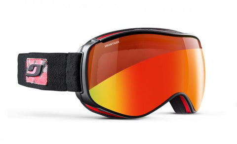 Julbo - Starwind Black Camouflage Snow Goggles / Reactiv Photochromic Snow Tiger Lenses