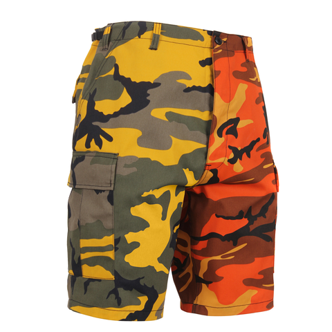 Rothco - Two-Tone Stinger Yellow Savage Orange Camo BDU Shorts
