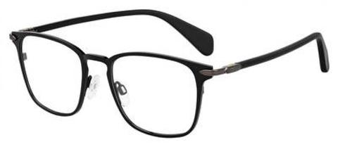 Rag & Bone - Rnb 7015 Matte Black Eyeglasses / Demo Lenses