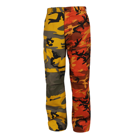 Rothco - Two-Tone Stinger Yellow Savage Orange Camo BDU Pants