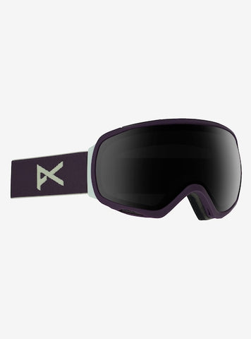 Anon - Women's Tempest Purple Snow Goggles / Smoke Lenses