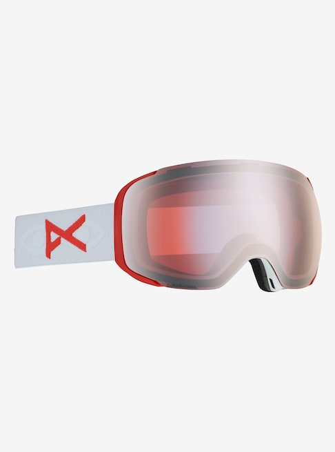 Anon - Men's M2 MFI Lightweight Neck Warmer Eyes Snow Goggles / Sonar Silver + Spare Sonar Infrared Lenses