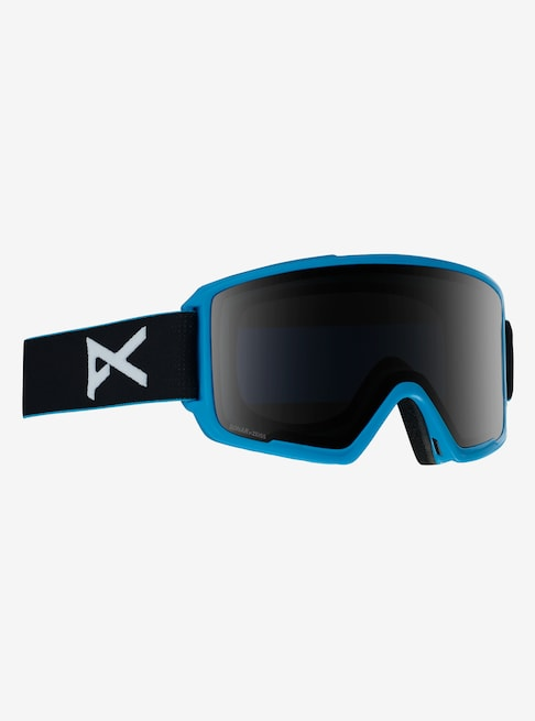 Anon - Men's M3 Blue Snow Goggles / Sonar Smoke + Spare Sonar Blue Lenses