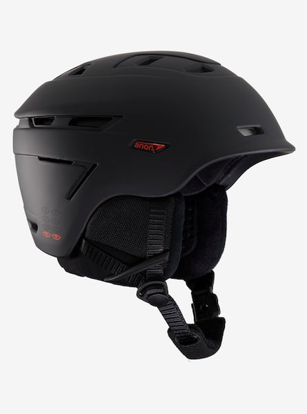 Anon - Men's Echo Medium Eyes Black Snow Helmet