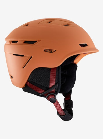 Anon - Men's Echo Large Orange Snow Helmet